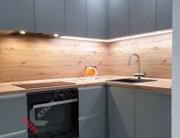 Встроенная кухня Supramat в квартиру студию №09