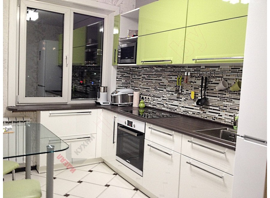 Кухня из пластика №317