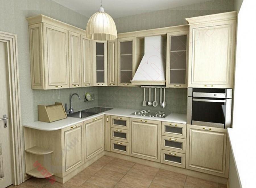 Кухня из Рамочного МДФ №01