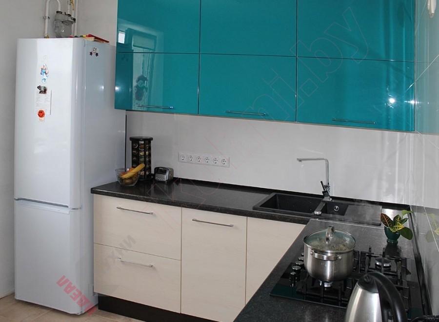 Кухни из крашеного МДФ №139