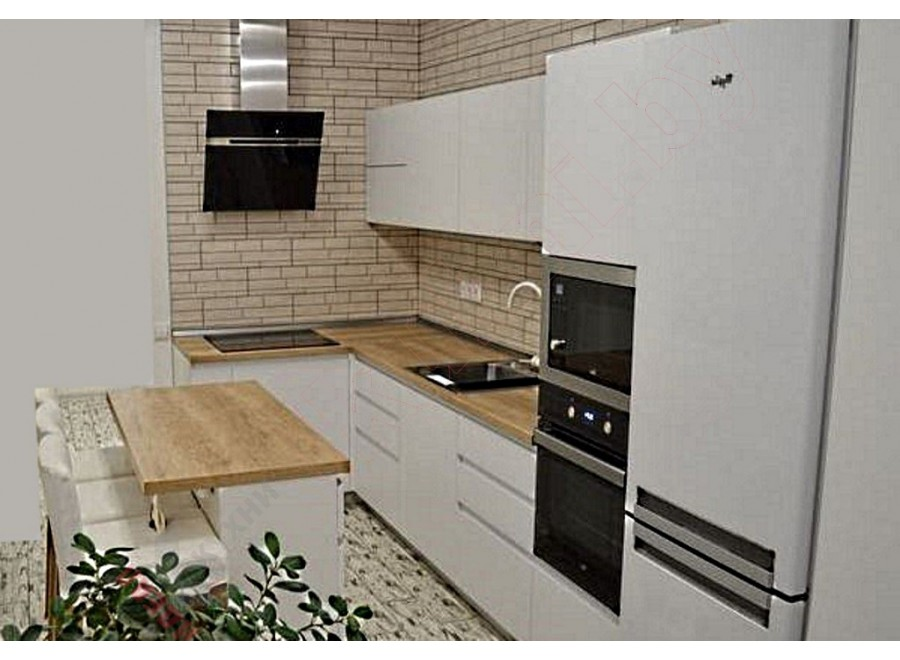 Матовая кухня №03