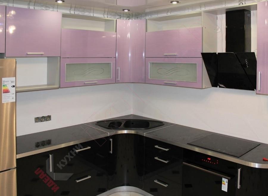 Кухня из пластика №18