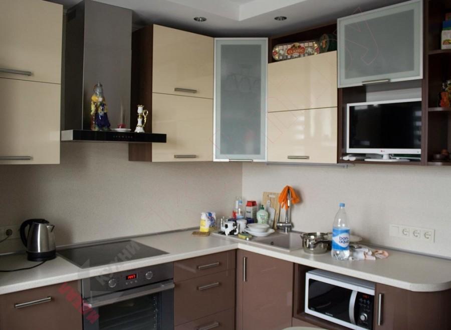 Кухня из пластика №21