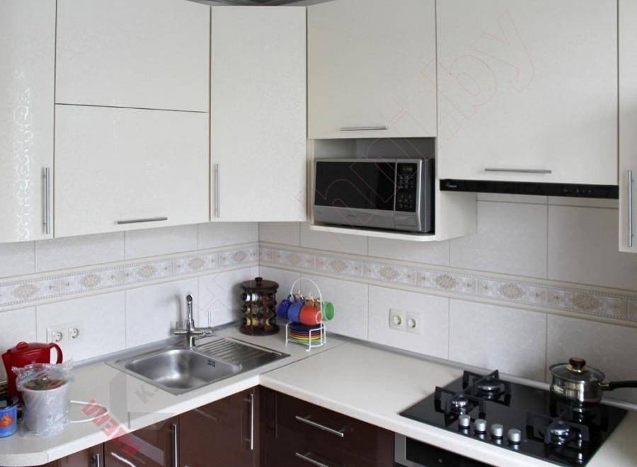 Кухни из пластика №227