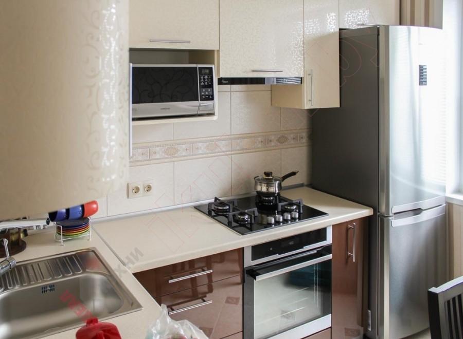 Кухня из пластика №14