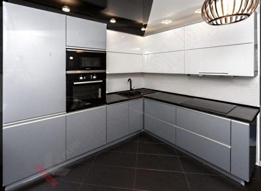 Кухня из пластика №12