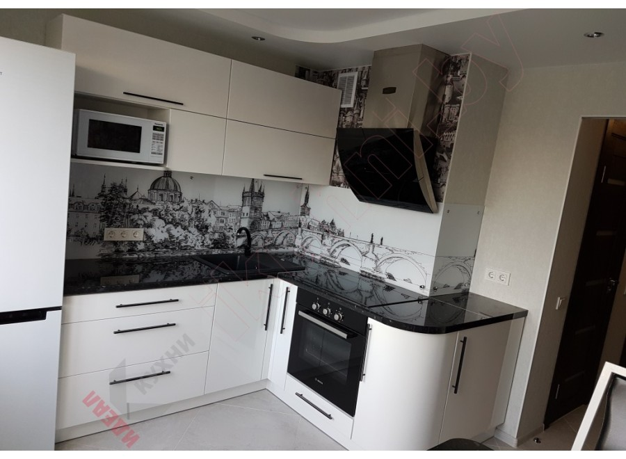 Угловая кухня №06