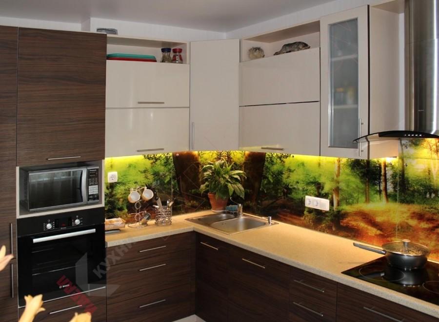 Кухня из пластика №117