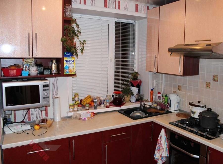 Кухня из пластика №52