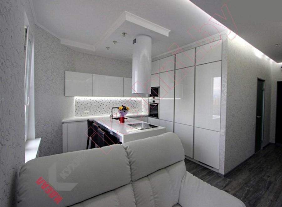 Глянцевая кухня №05