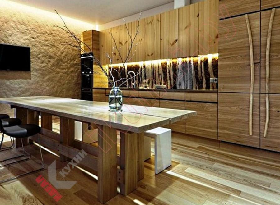 Кухня в японском стиле №03