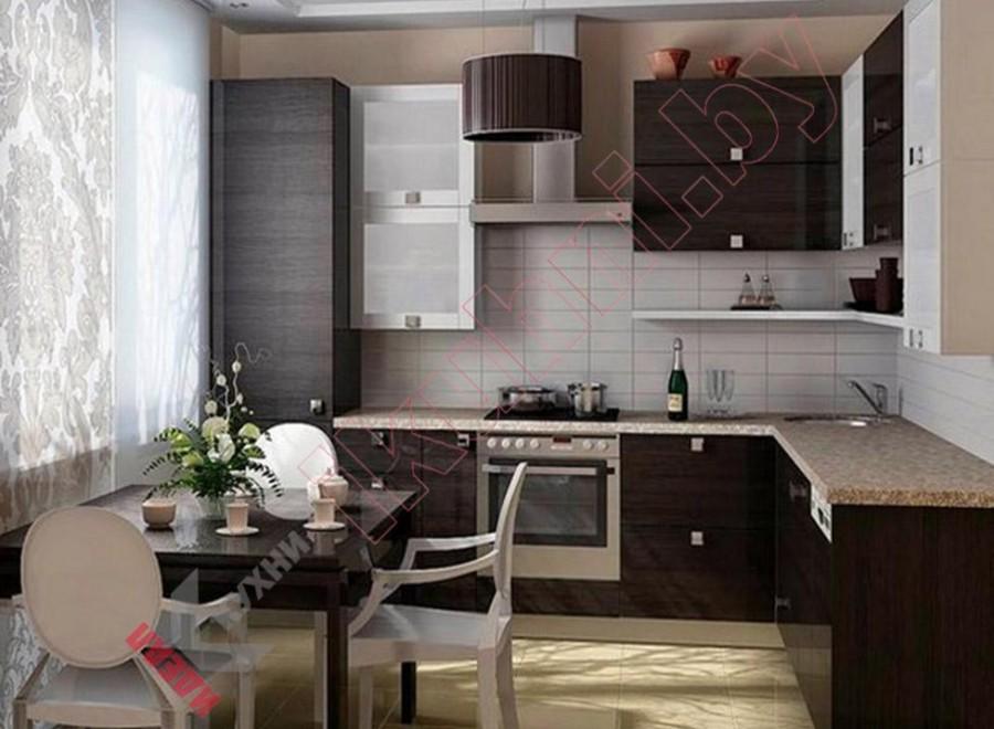 Кухня в японском стиле №05