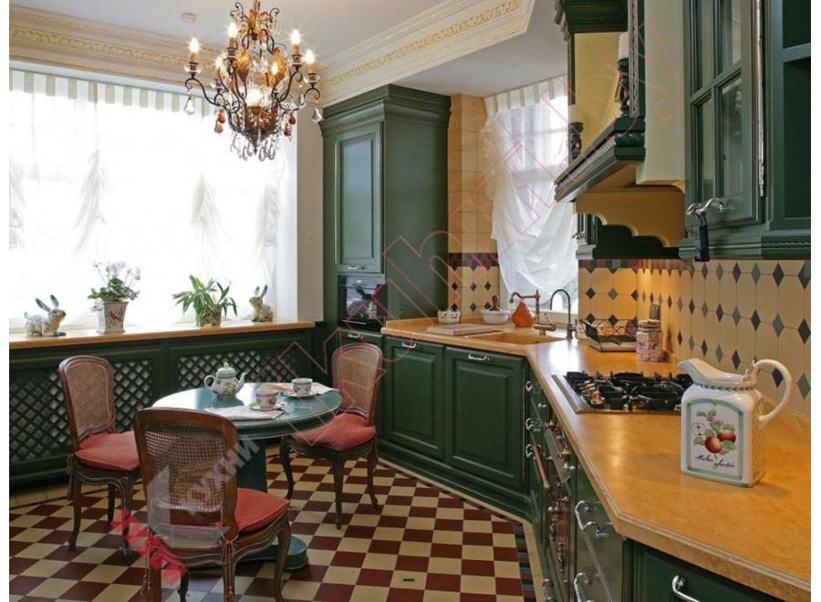Кухня в английском стиле №12