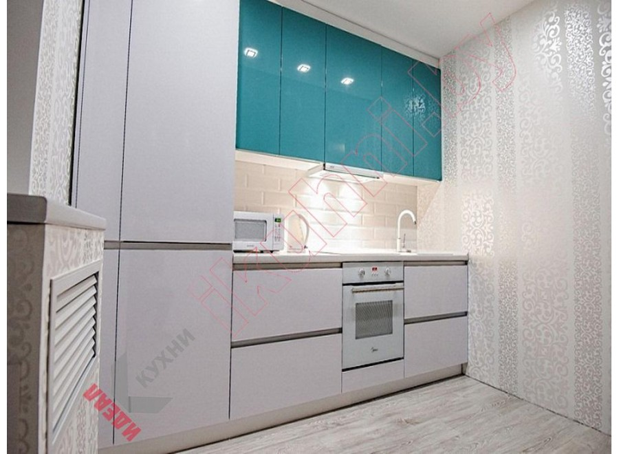 Кухня без ручек №02
