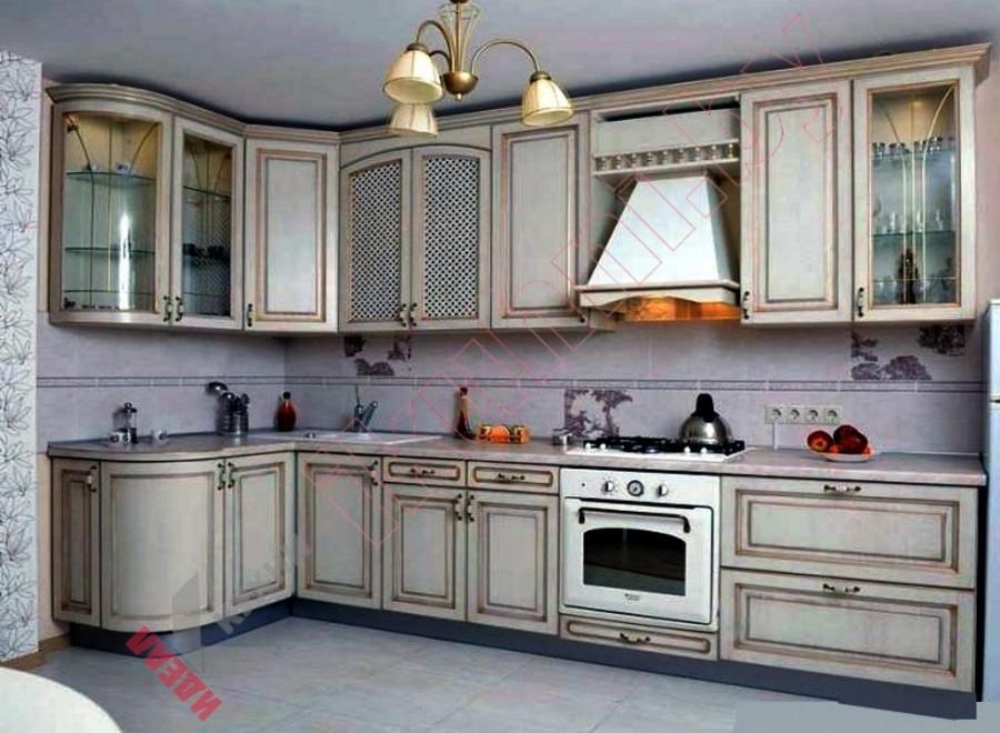 Кухня из массива дуба №02