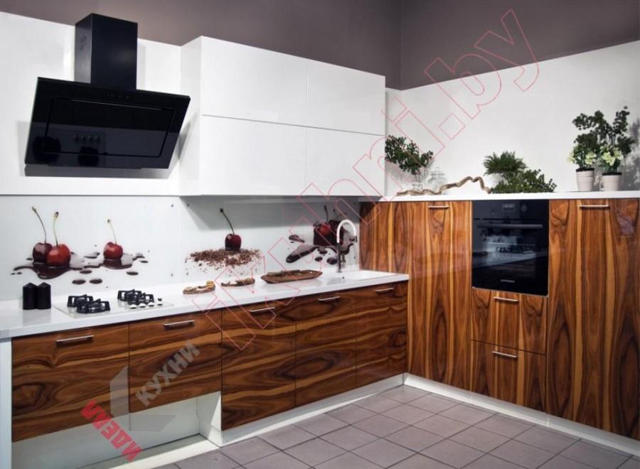 Кухня из шпона №02