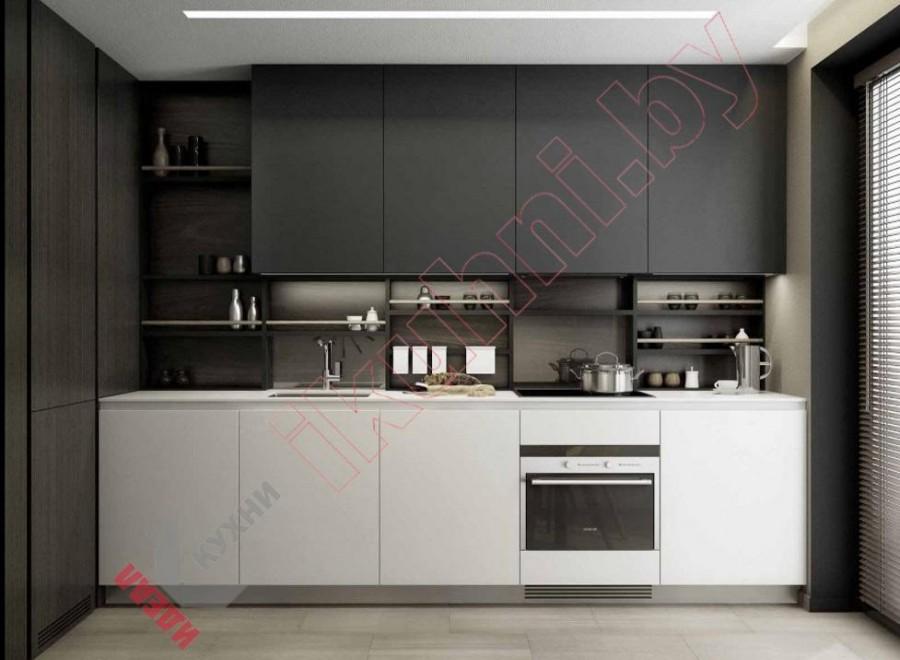 Кухня из пластика FENIX NTM №01