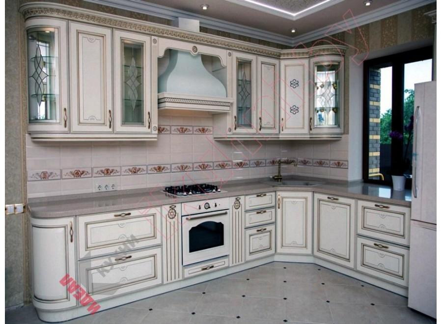 Кухня с патиной №01