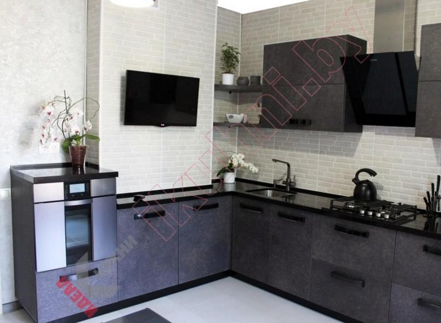 Матовая кухня №04
