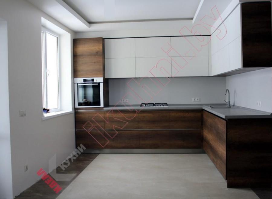 Кухня на заказ с фасадами Cleaf №01